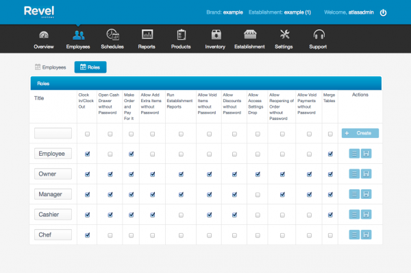 Payroll Management Screen