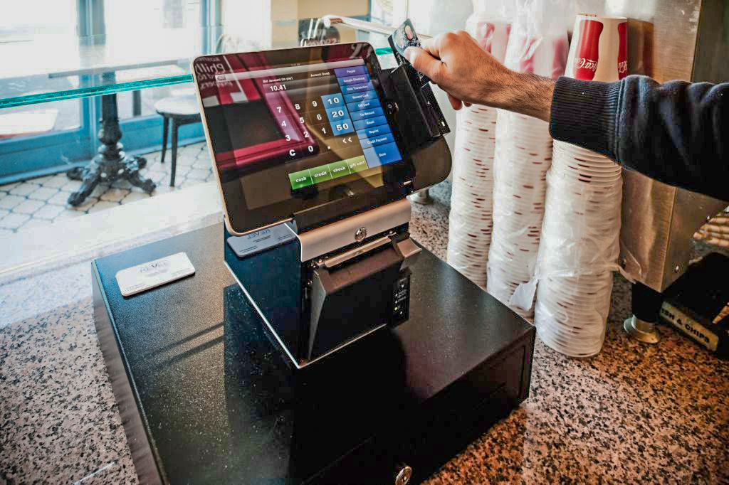 Revel's first iPad POS system