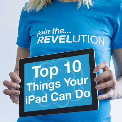 Top 10 Things Your iPad Can Do