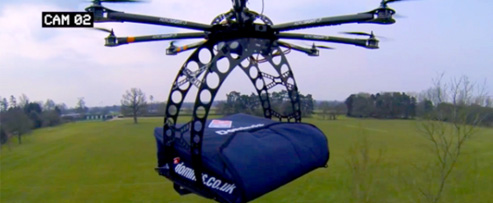Top 5 Food Delivery Drones