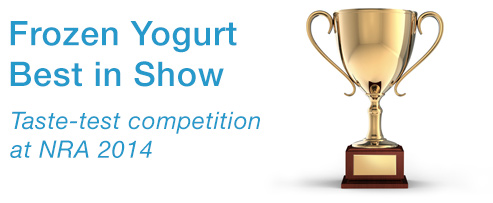 Froyo Tasting Competition at the NRA Show