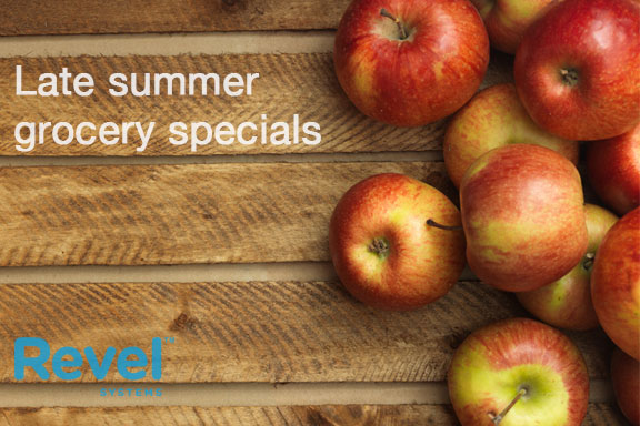 How to Market Late Summer Grocery Specials