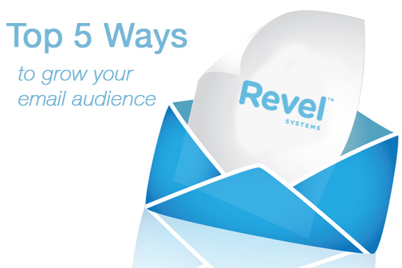 5 Ways to Grow Your Email Audience