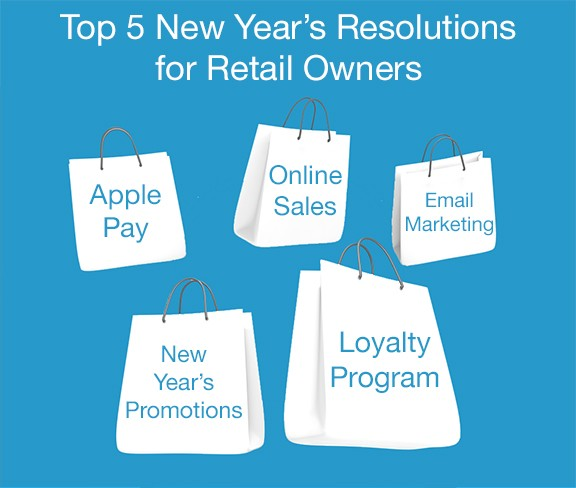 Top 5 New Year's Resolutions for Retail Owners