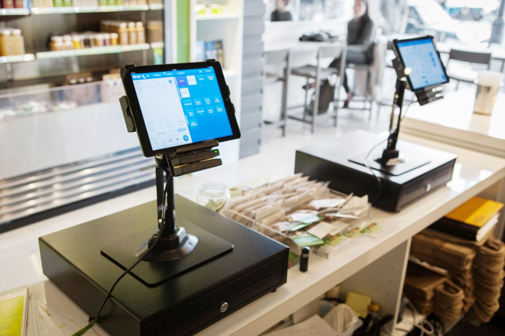 Revel Systems iPad POS at Project Juice