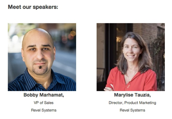 Bobby Marhamat Marylise Tauzia Speakers