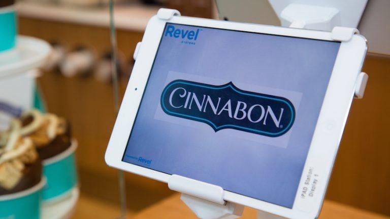 iPad POS | Cinnabon