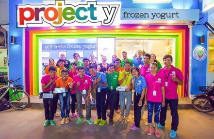 iPad POS | Project Y Frozen Yogurt