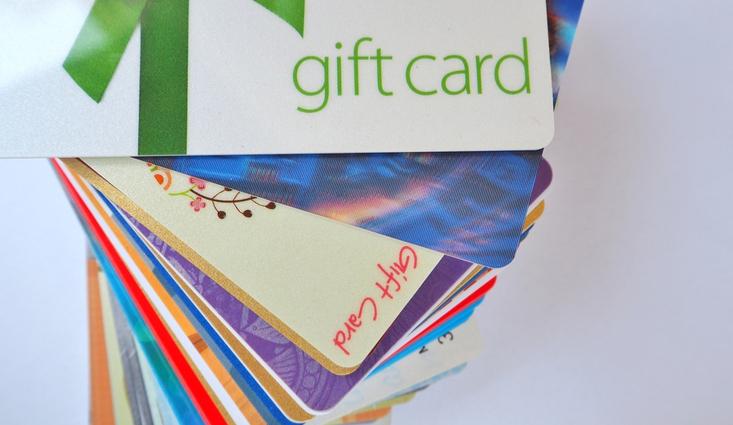 Gift card statistics
