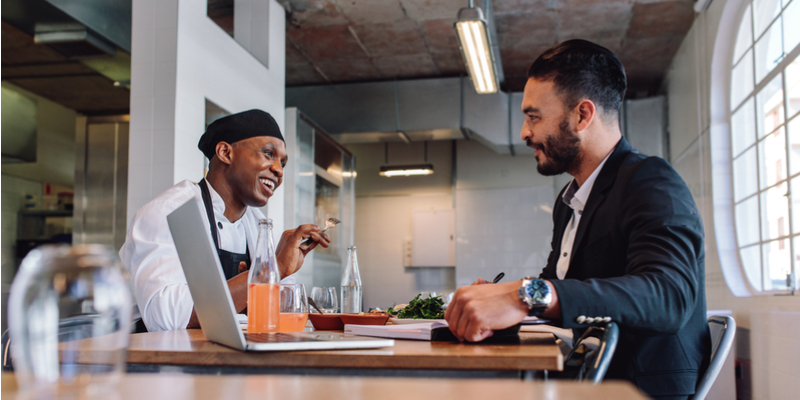 Restaurant owners review data