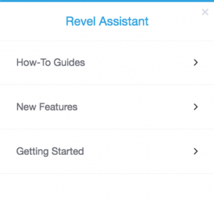 Revel Assistant | Revel Systems