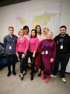 Tech Day of Pink in Lithuania