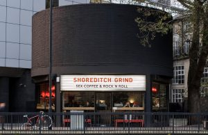 Exterior at Grind Shoreditch location