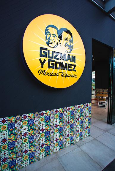 Guzman y Gomez Storefront