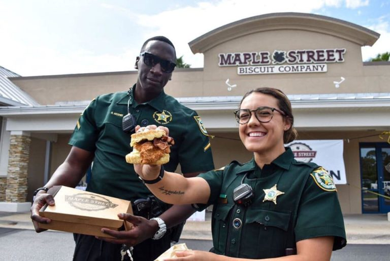 Maple street's biscuits for heroes initiative